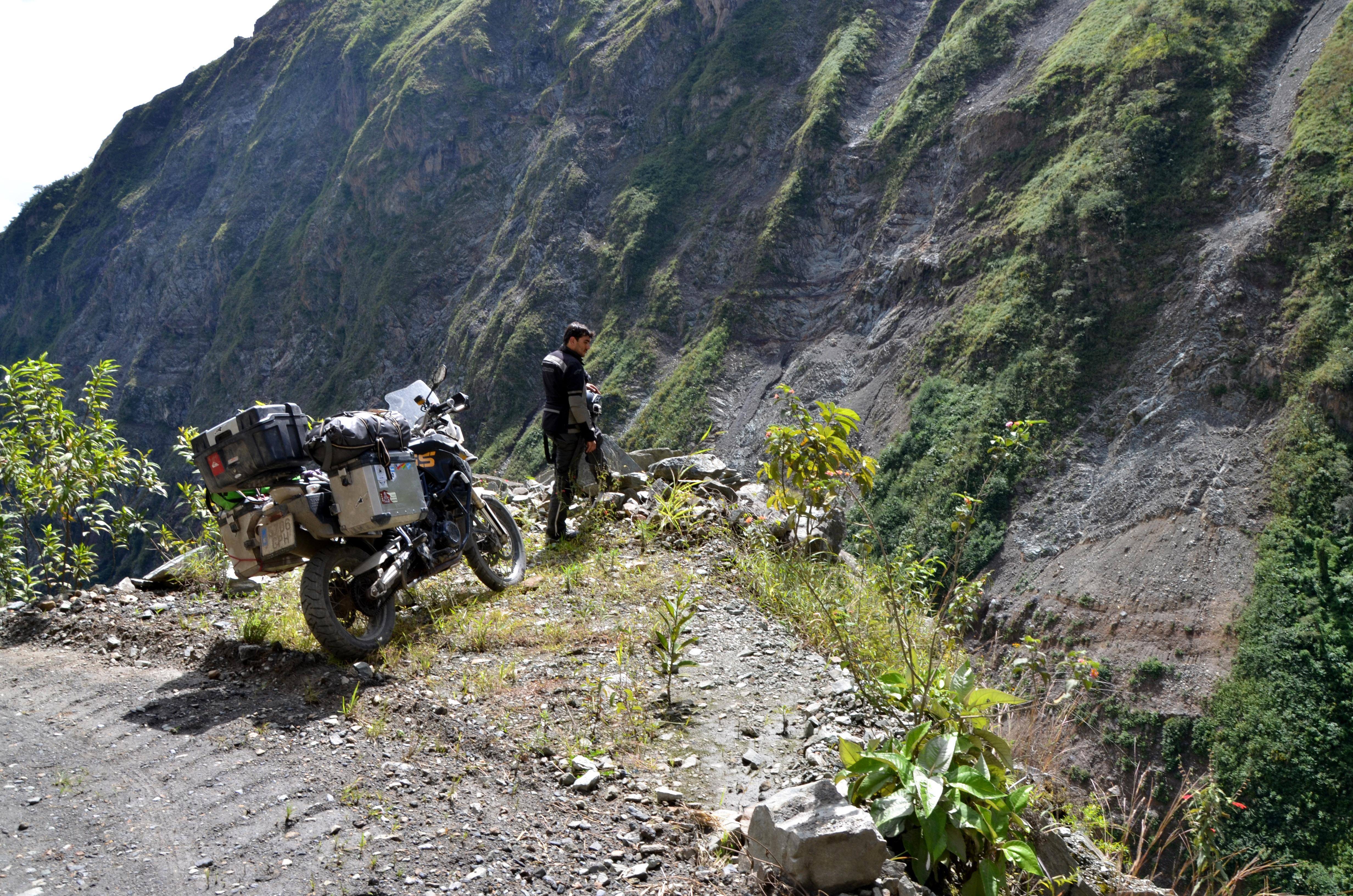 recorriendo Perú en moto