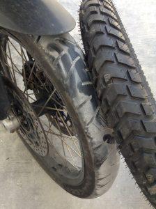 viaje en moto por Mexico