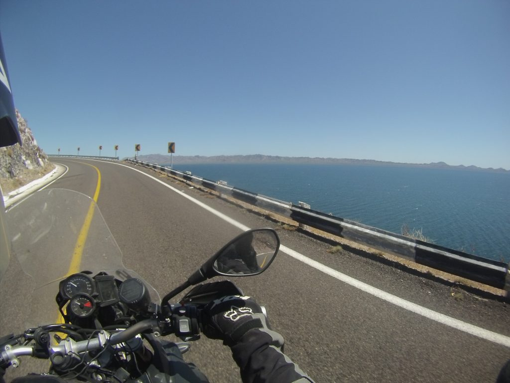 viaje en moto por México