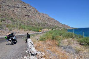 viaje en moto por Baja California