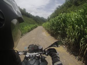 Guatemala en moto