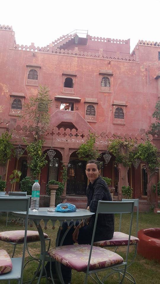 viaje en moto por Rajasthan