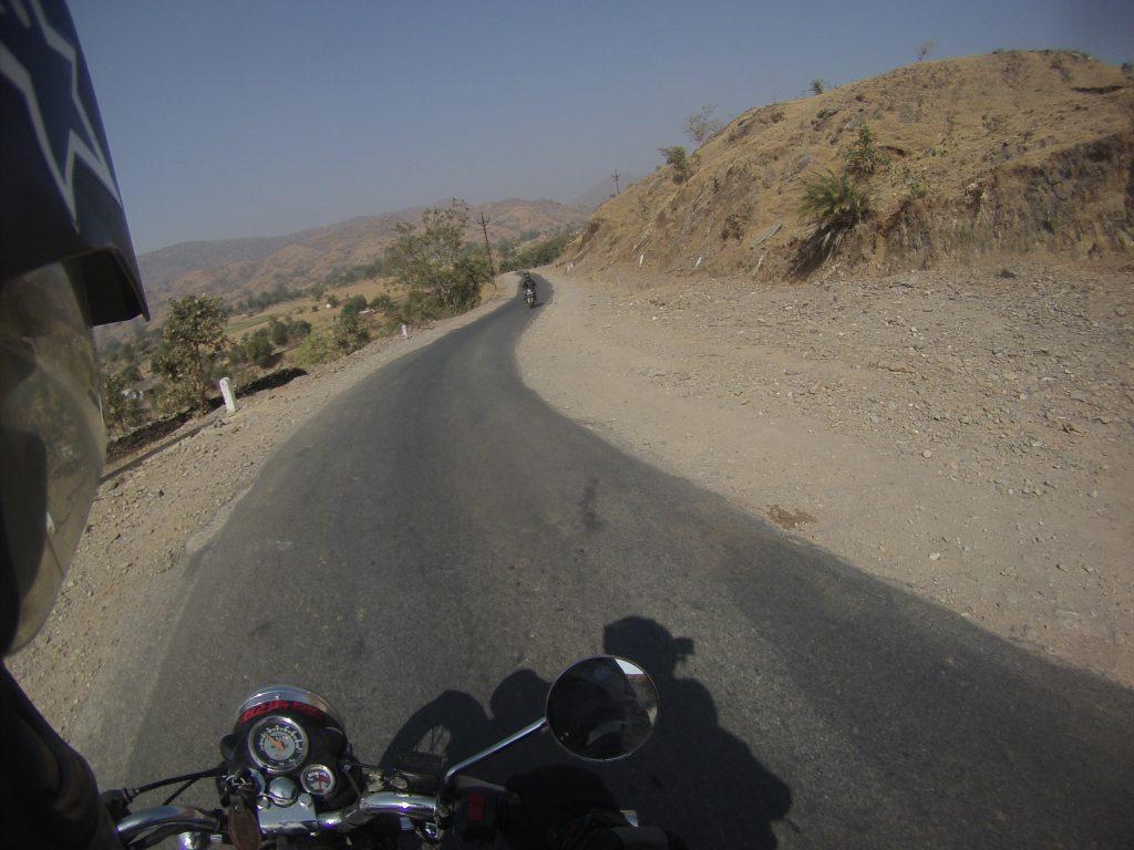Viaje en moto por India
