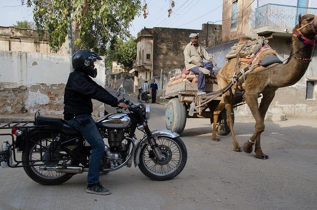 Rajasthan en moto