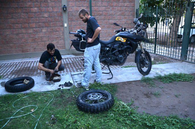 Argentina en moto