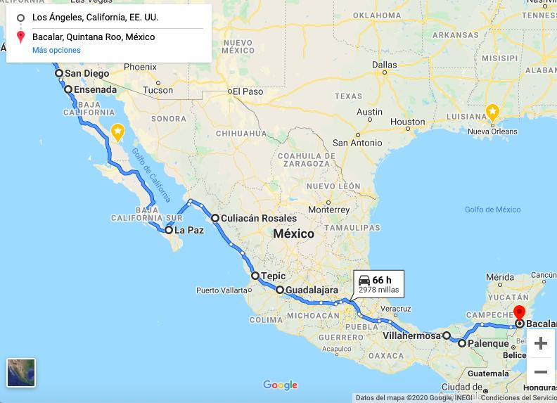 Mexico en furgoneta