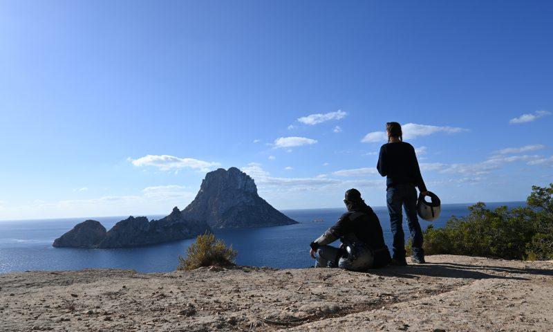 Ibiza en moto.