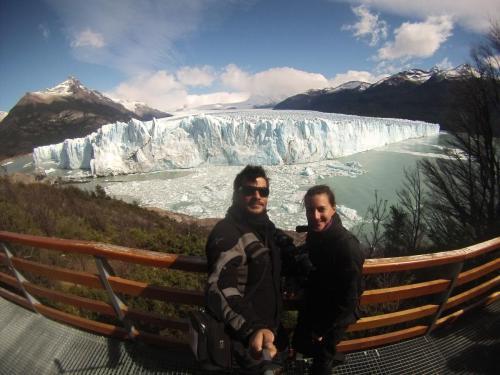El Calafate, viaje en moto por Argentina