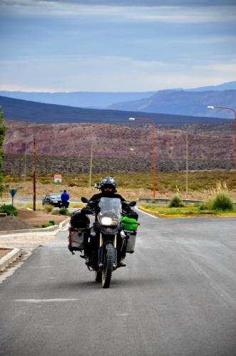 Patagonia Argentina en moto