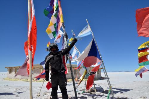 Salar de Uyuni, Bolivia en moto