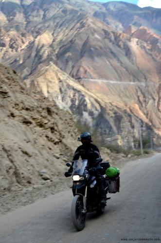 Cañón del Pato, Perú en moto